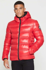 Good For Nothing Climate Puffer Jacket - Red - 1