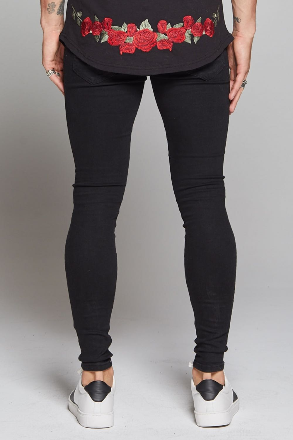Good For Nothing Destroyed Jeans - Black - 3