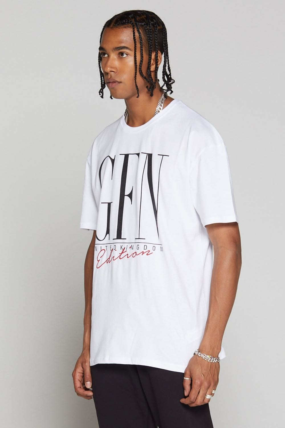 Good For Nothing Edition Oversized T-Shirt - White