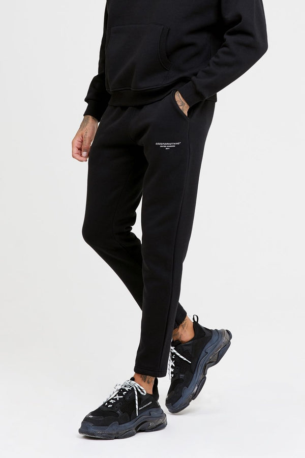 Good For Nothing Archive Cropped Joggers - Black