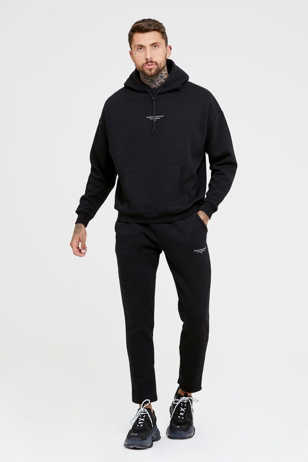 Good For Nothing Archive Cropped Joggers - Black - 1