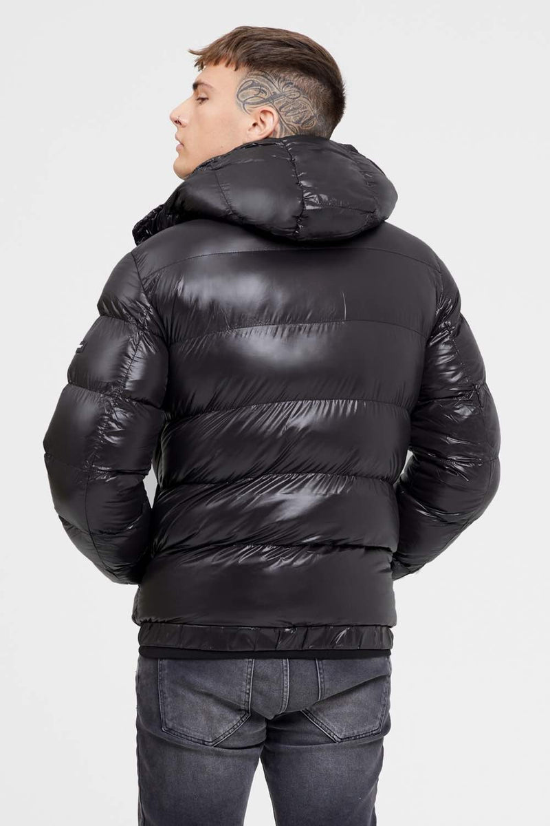 Good For Nothing Cyclone Puffer Jacket - Black - 3
