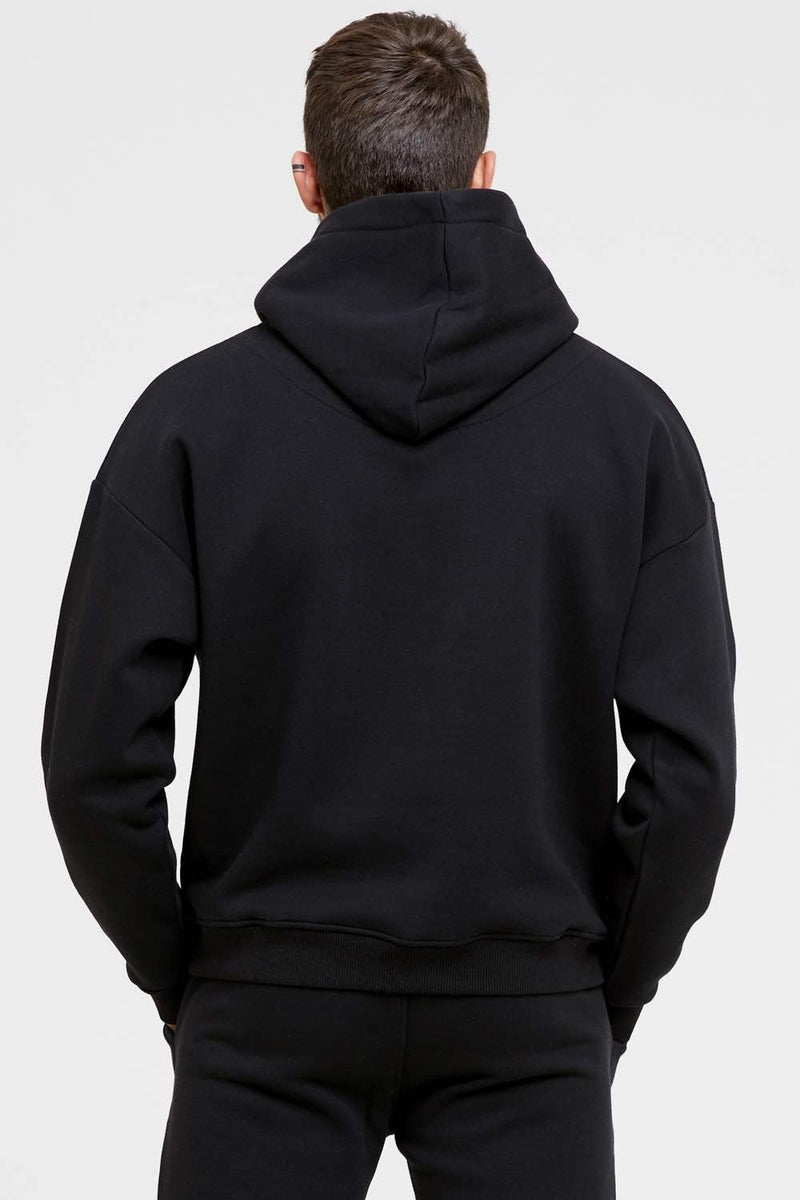 Good For Nothing Oversized Archive Hoodie - Black - 2