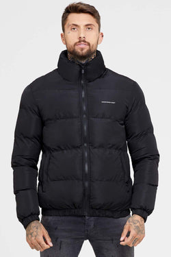 Good For Nothing Road Puffer Jacket - Black