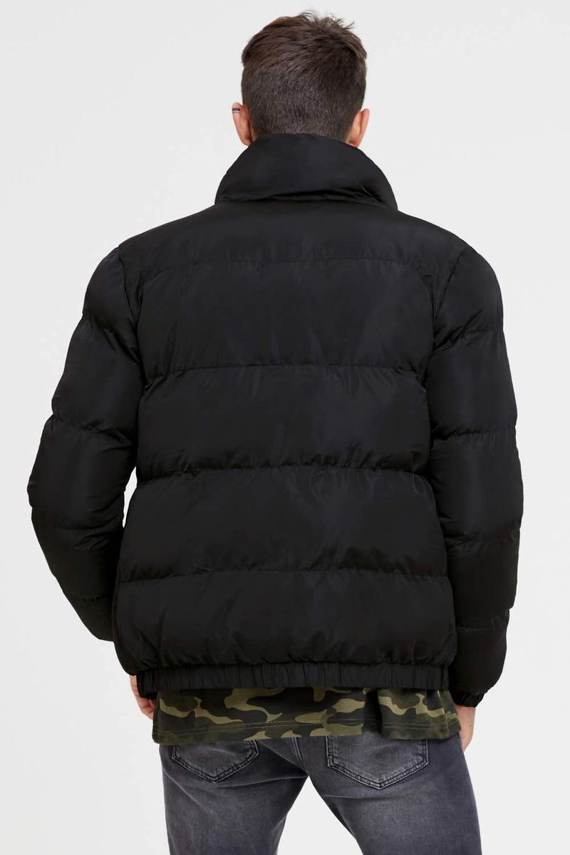 Good For Nothing Road Puffer Jacket - Black - 4