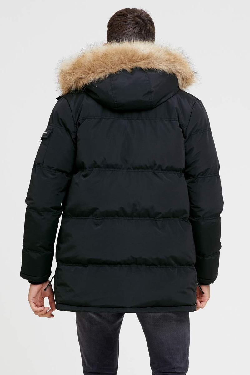 Good For Nothing Double Layered Parka - Black - 4