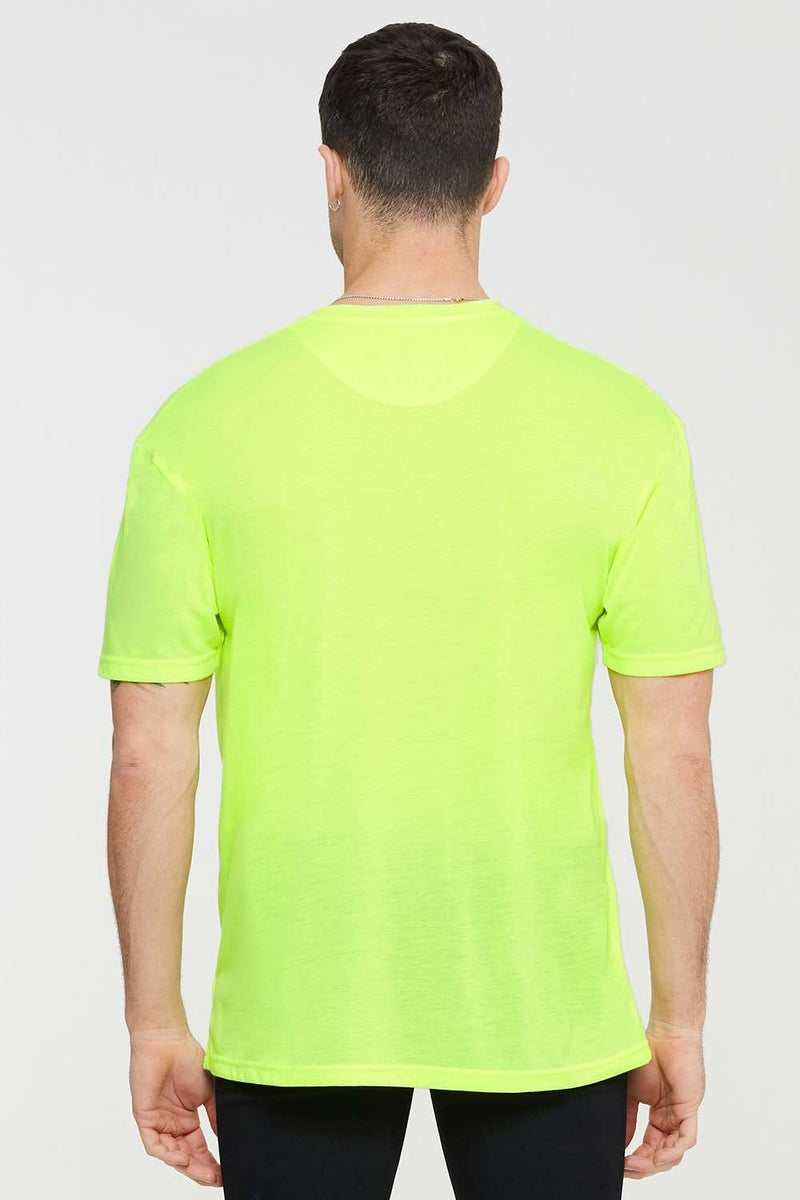 Good For Nothing Oversized Global T-shirt - Neon - 3