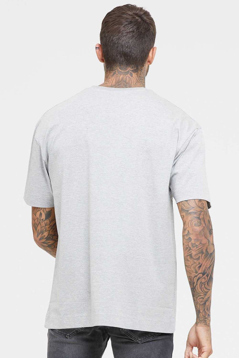 Good For Nothing Oversized Technical T-Shirt - Grey - 2