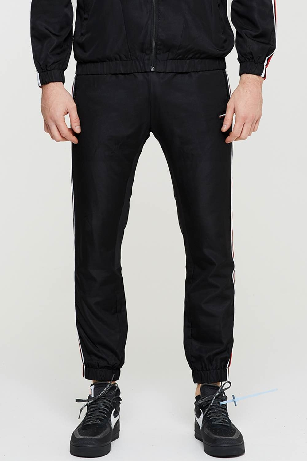 Good For Nothing Scope Tape Joggers - Black - 1
