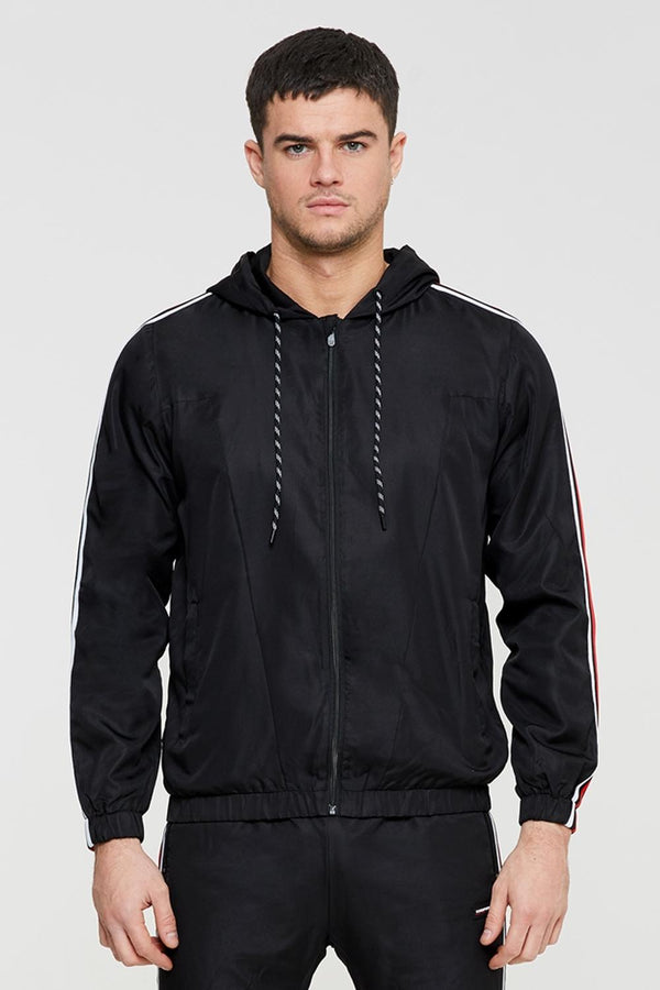 Good For Nothing Scope Tape Track Jacket - Black - 2