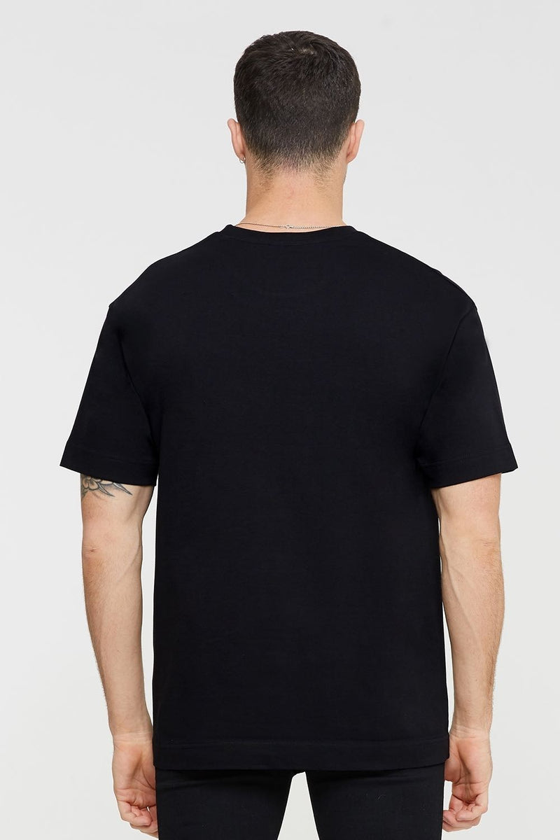 Good For Nothing Tech Oversized T-shirt - Black - 2
