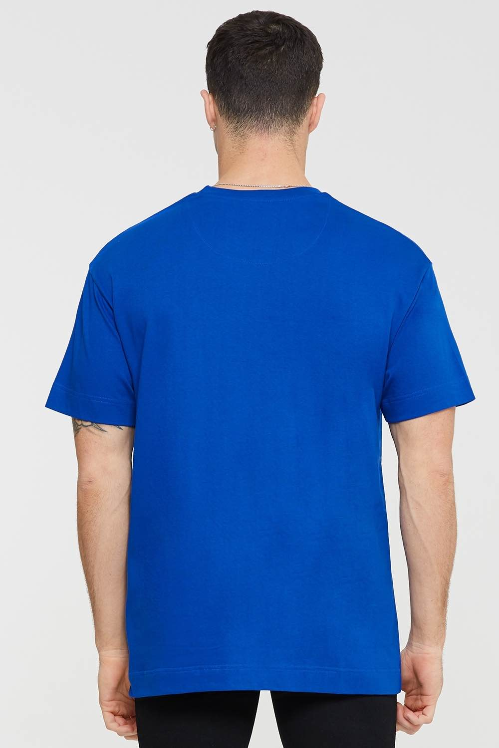 Good For Nothing Tech Oversized T-shirt - Blue - 3