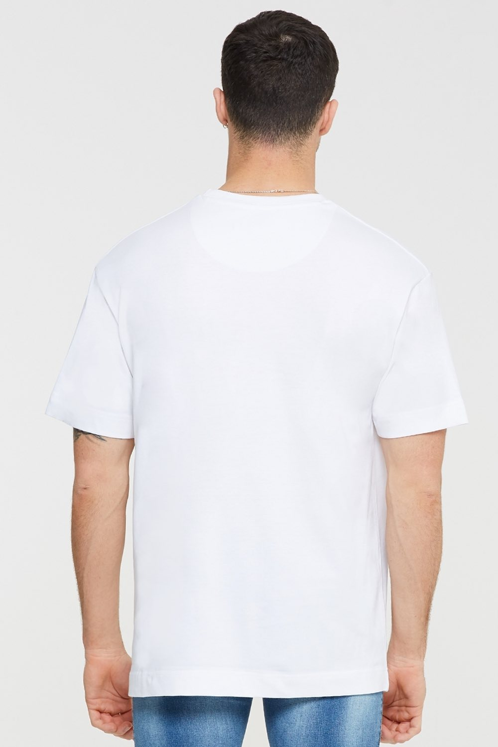 Good For Nothing Tech Oversized T-shirt - White - 2