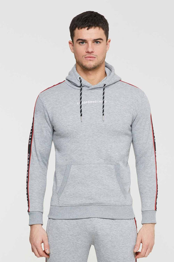 Good For Nothing Transition Hoodie - Grey - 1