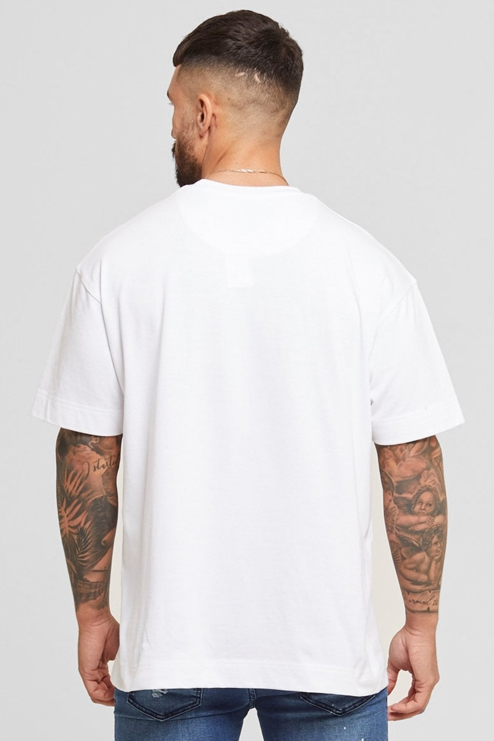 Good For Nothing Oversized Surge Tee - White - 2