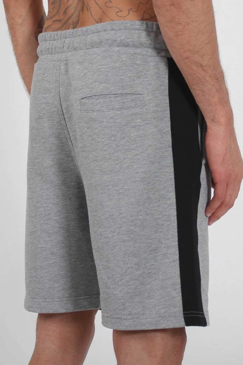 Nuevo Club Panel Shorts - Grey/Black - 2