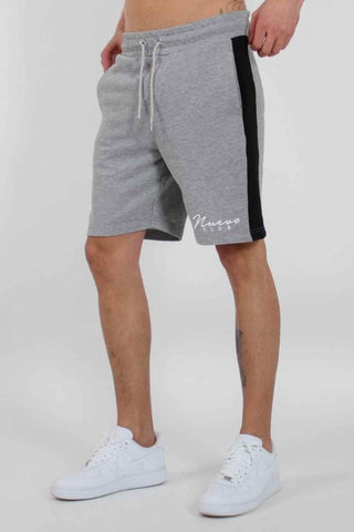 Nuevo Club Panel Shorts - Grey/Black