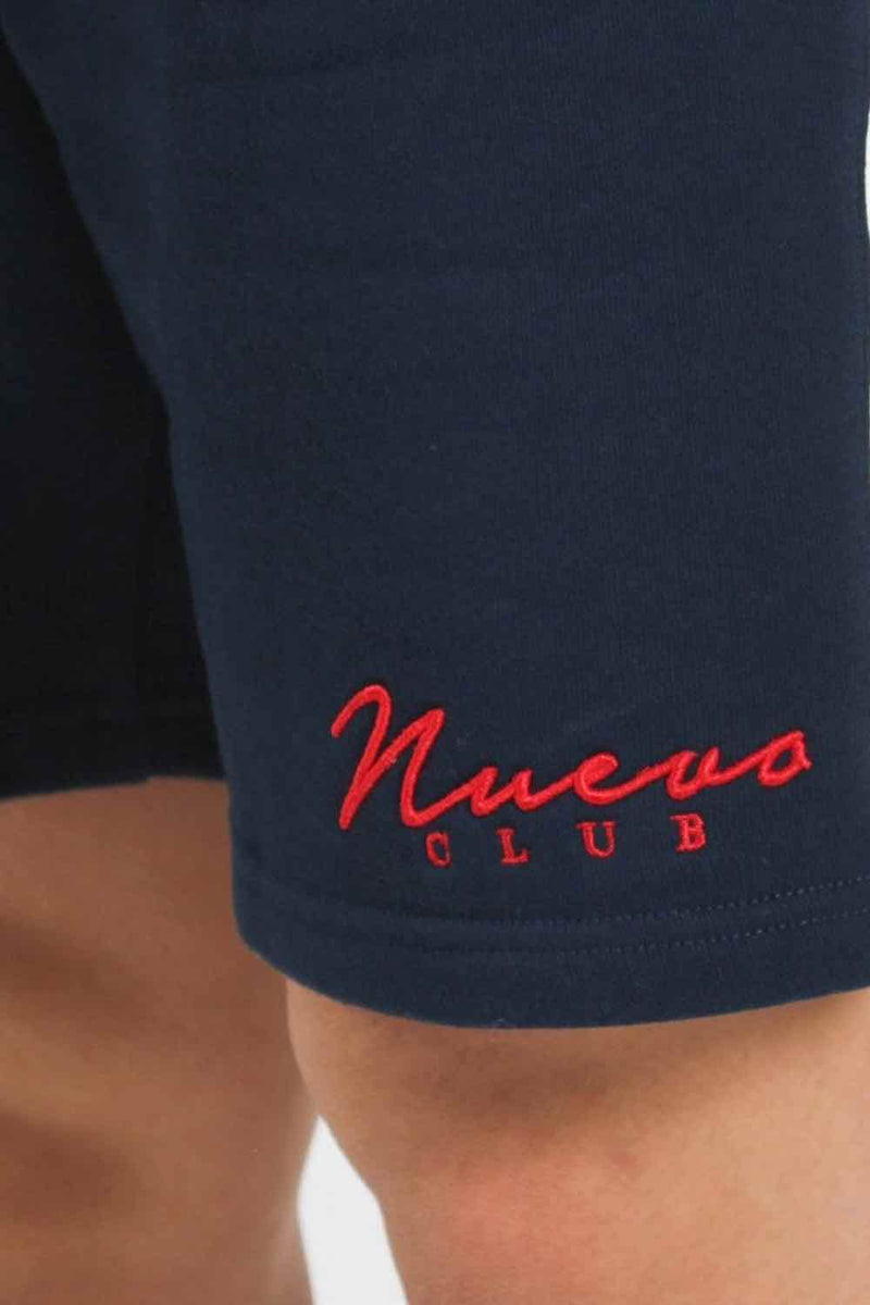 Nuevo Club Panel Shorts - Navy/White - 3