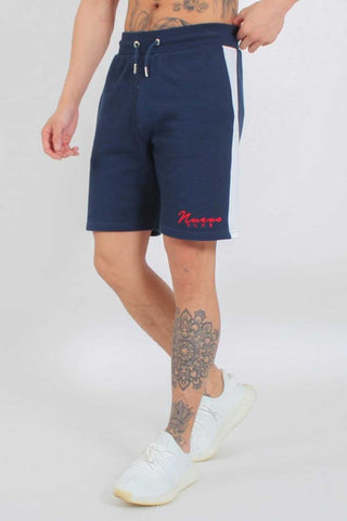 Nuevo Club Panel Shorts - Navy/White