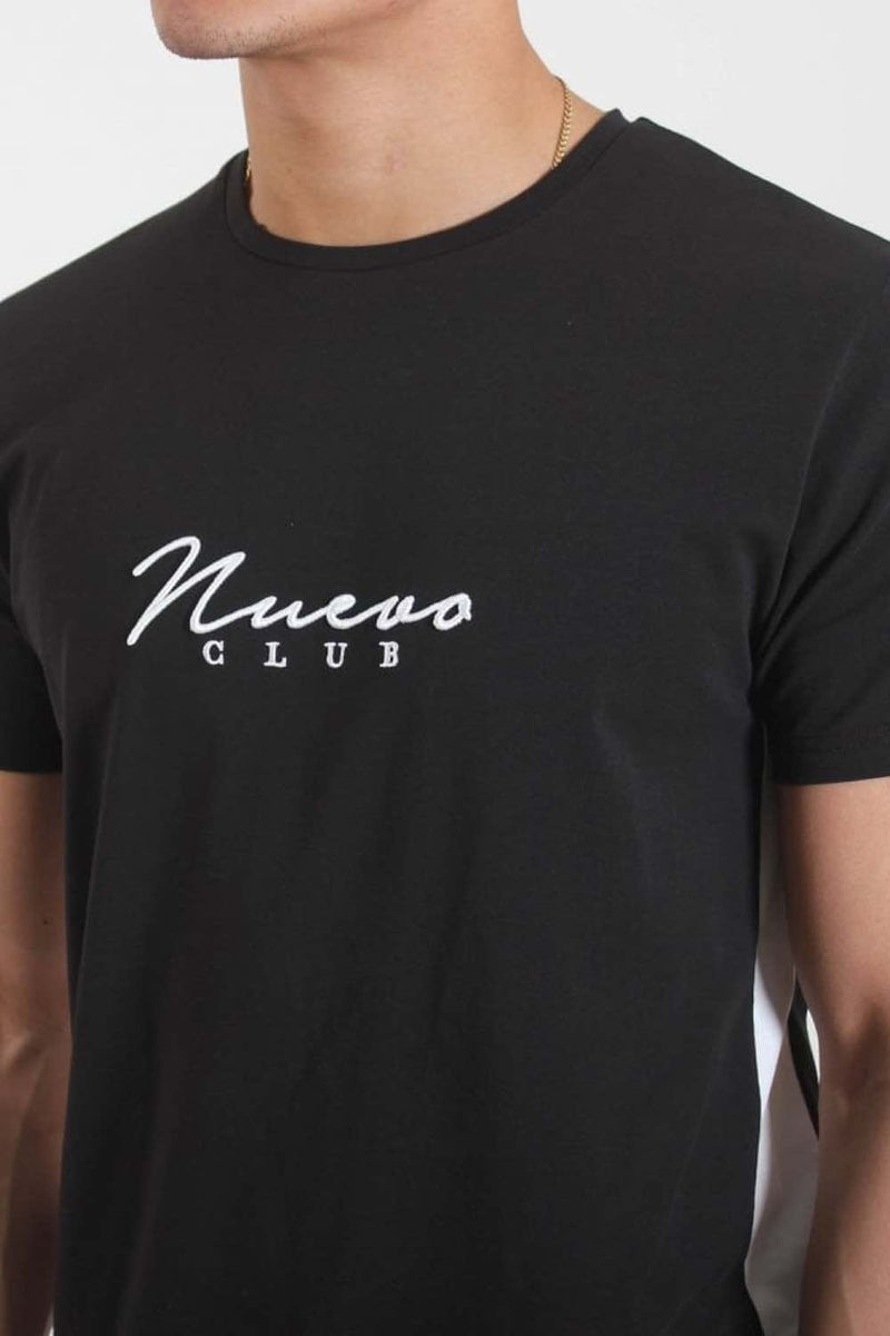 Nuevo Club Panel T-Shirt - Black/White - 1
