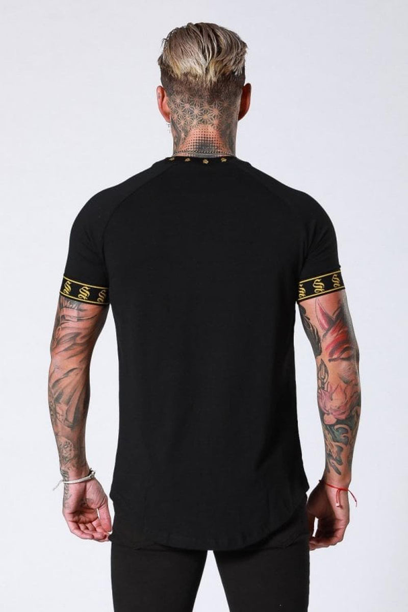 Sinners Attire Crest T-Shirt - Black - 3