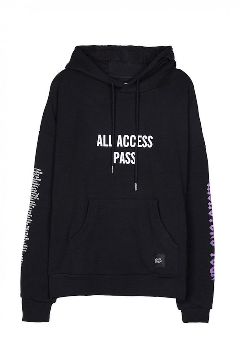 Sixth June All Access Pass Hoodie - Black - 2