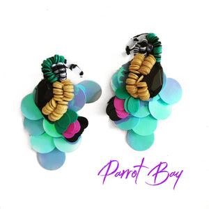 Parrot Bay Exotic Earrings