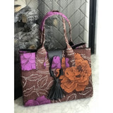Ankara Locket Bag - Flor