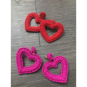 Be Mine Heart Earrings