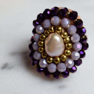 Canberra Ring - Purple