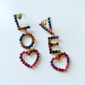 Love Me Drop Earrings