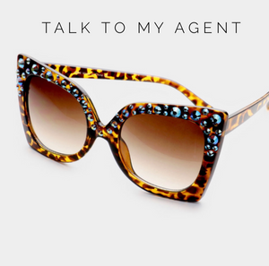 BACKORDERED Talk To My Agent Sunglasses