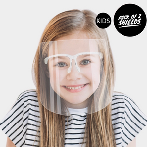 Kids Clear Face Shield Mask