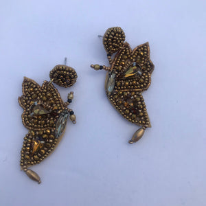 Golden Flyer Earrings