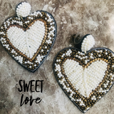 Sweet Love Seed Bead Earrings