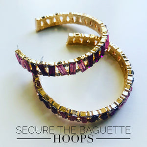 Secure the Baguette Hoops