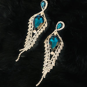 Hollywood Glam Chandelier Earrings