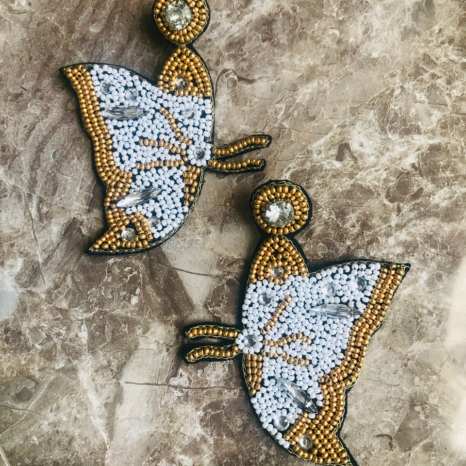Flutter Love Earrings
