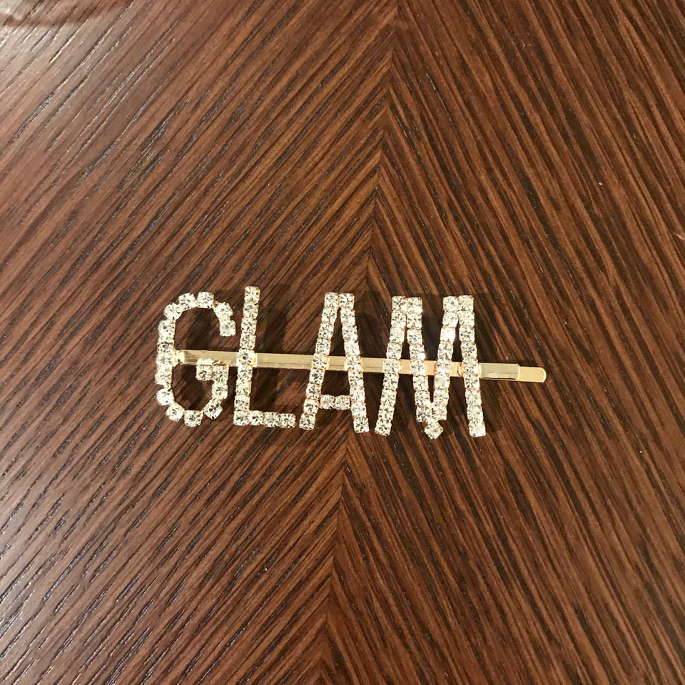 Worded Hair Pins