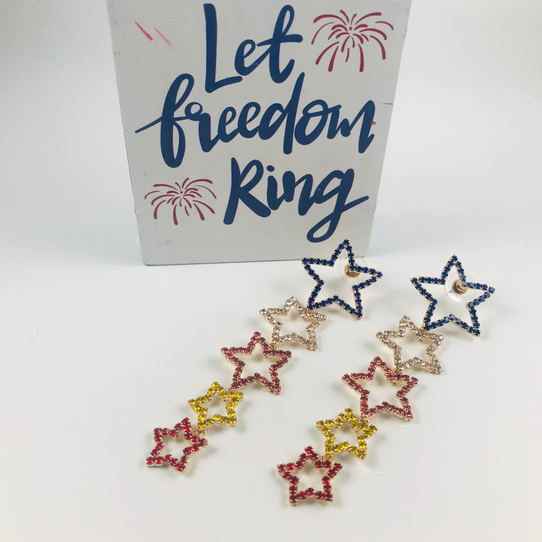 Shooting Stars Earrings