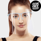 Adult Clear Face Shield Mask