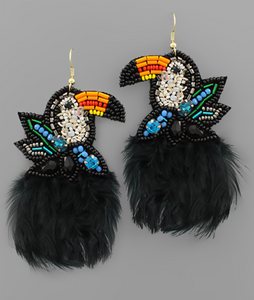 Toucan Do It Earrings