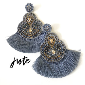 Jute Handmade Earrings