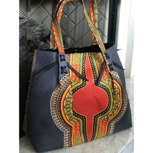Large Ankara Tote - AT1 - Handbag