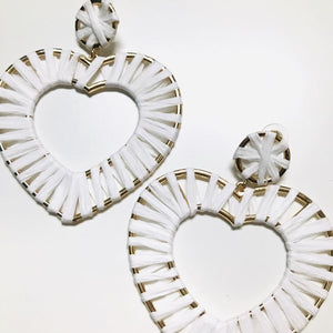 Love Wins Heart Earrings