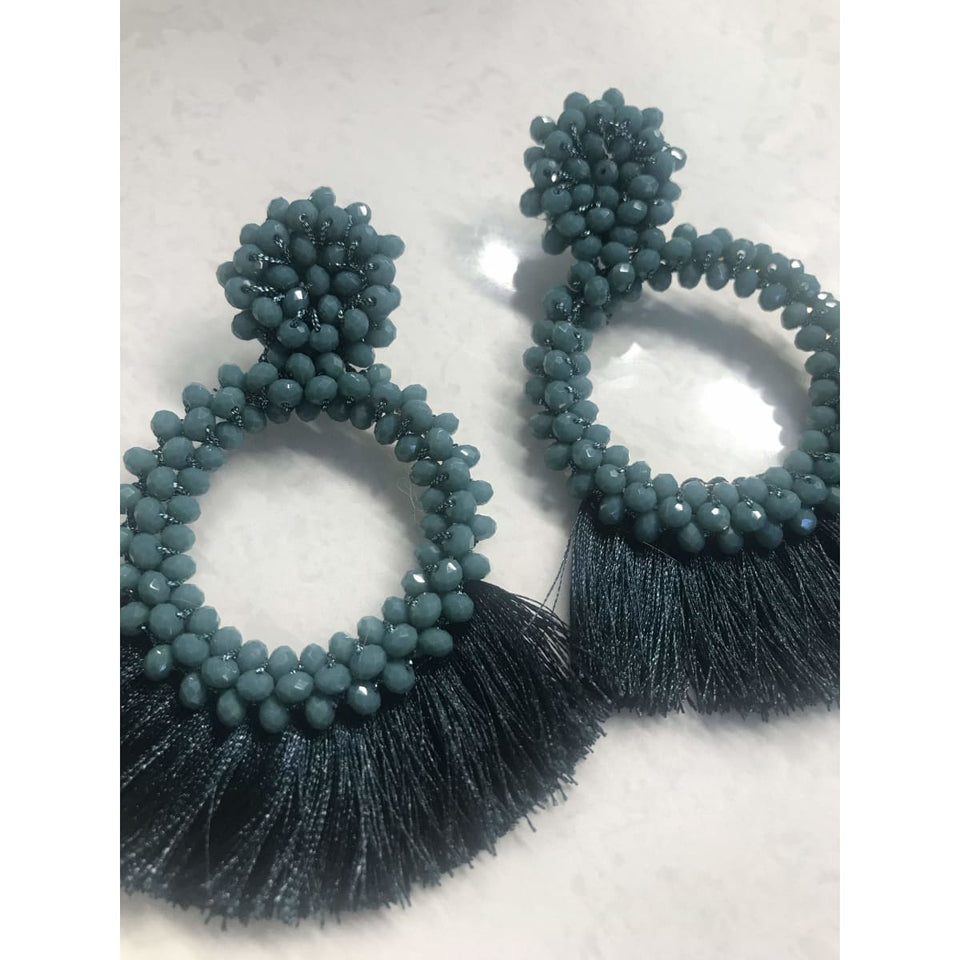 Myelle Earrings - Teal Me About It