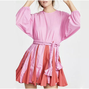 Peppa Dress - Flamingo / small