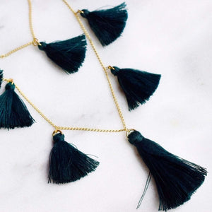 Saint Nick Tassel Necklace