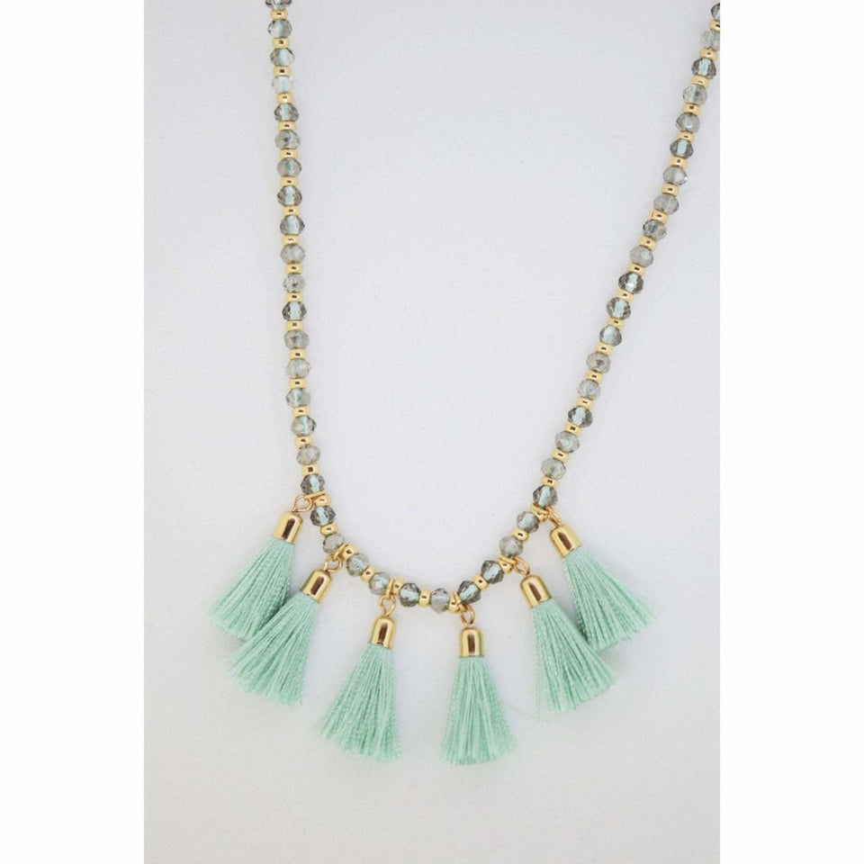 Tamia Necklace - Mint