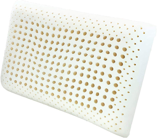 100% Organic Latex Pillow with Premium Organic Cotton Cover  [GOTS & GOLS Certified] - Organic Textiles